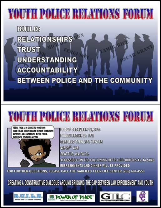 POLICE TEEN EVENT